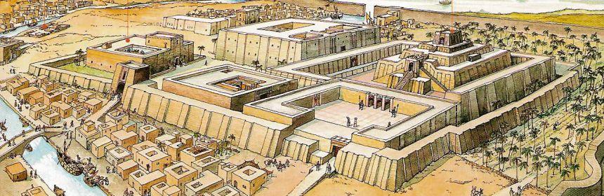 Une histoire abrégée de l`Ancien Testament – (avec images et cartes géographiques) Ur-reconstit-860x280